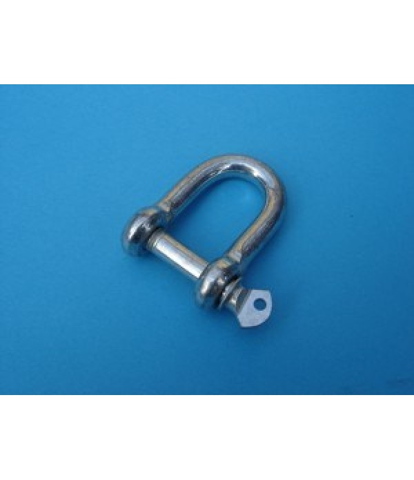 D-Shackle, 8mm. dia.