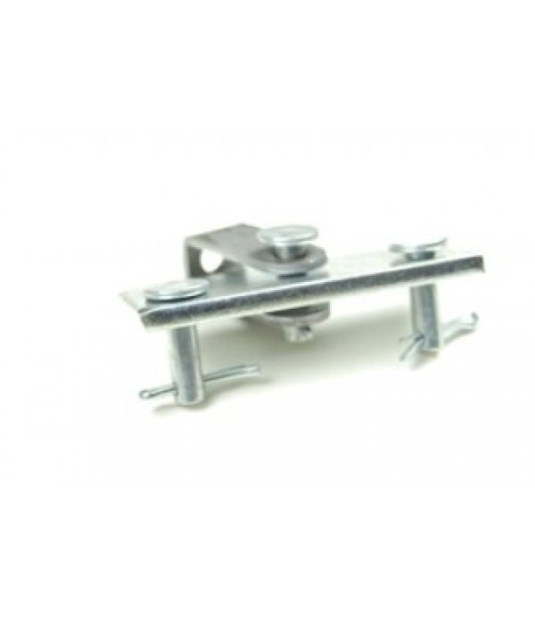 Single axle brake compensator for clevis end