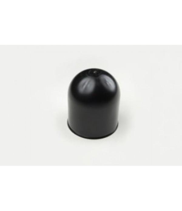 Towball cap, black plastic