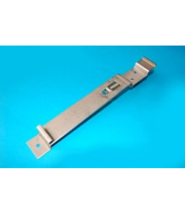 Number plate clip, square plate