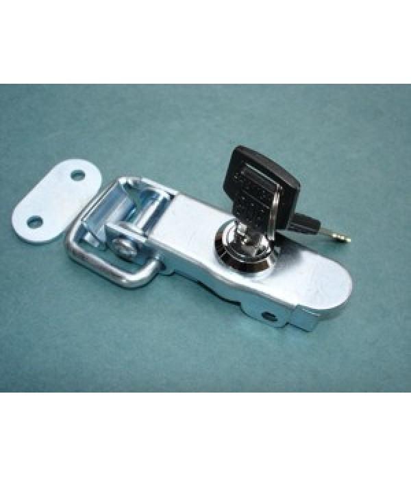 Brenderup lockable over-centre fastener