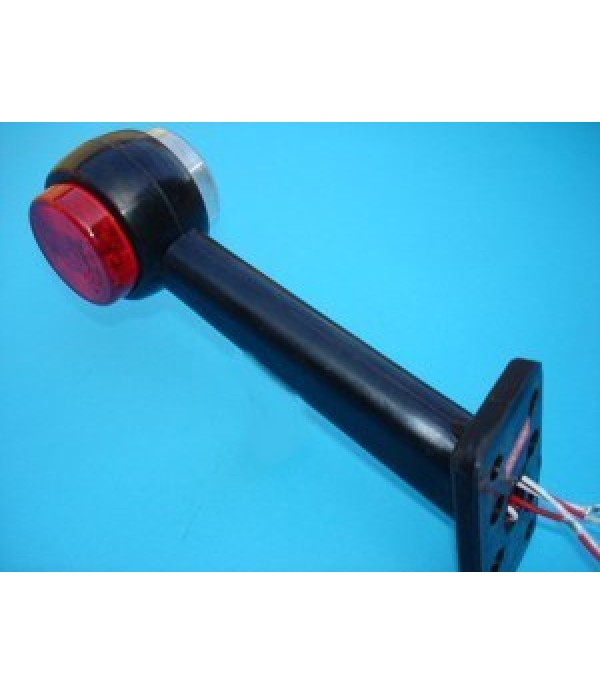 LED 45 degree stalk marker light, left hand