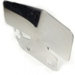 Stainless double bumper protector with single socket holder