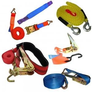 Tow Ropes & Ratchet Straps