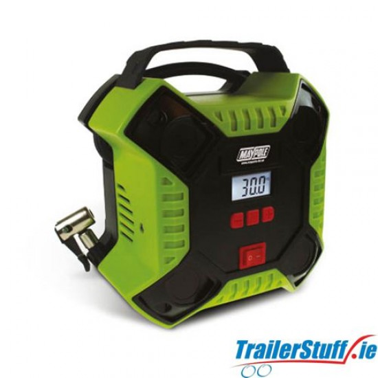 12V Digital Automatic Compressor With LED Light