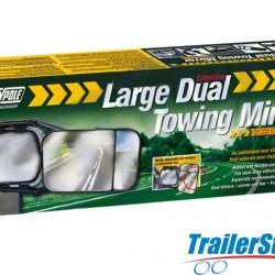 Large Dual Towing Mirror