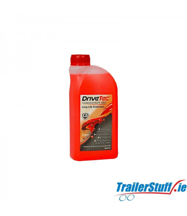 DRIVETEC RED ANTIFREEZE & COOLANT 1L