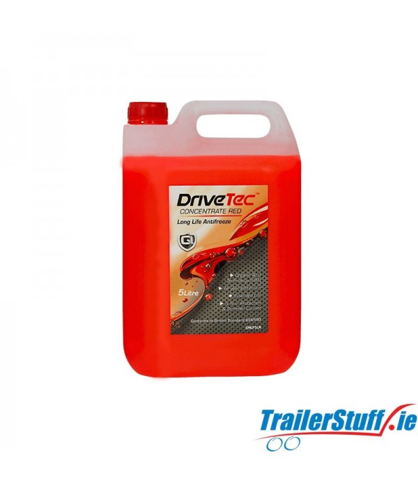 DRIVETEC RED ANTIFREEZE & COOLANT 5L