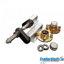 Knott-Avonride 350 kg. standard suspension units with hubs