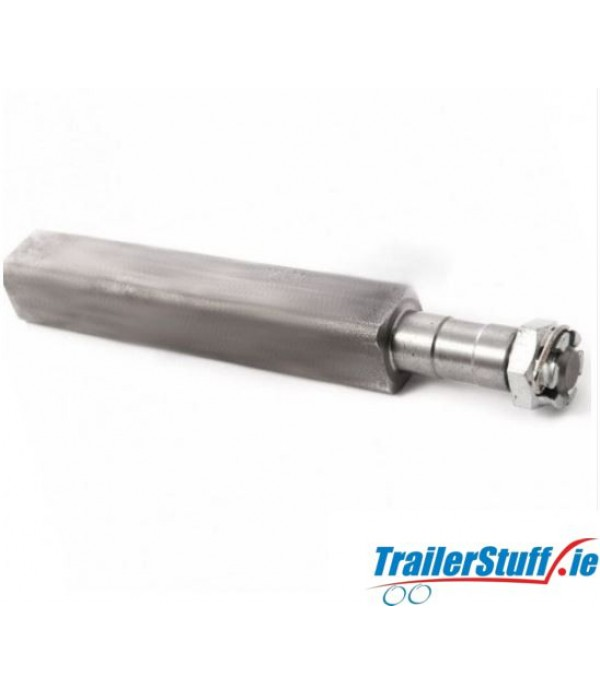 "1"" Stub axle, heavy duty"