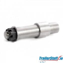 """Stub axle for 1"""" taper hub"""