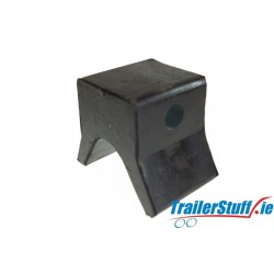 Black Bow Snubber Block