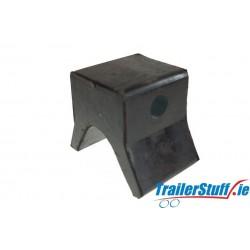 Black Bow Snubber Block