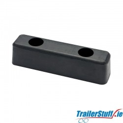 Rubber buffer 150x50x50mm.