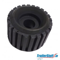 Ribbed Rubber Wobble Roller