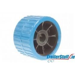 BLUE RIBBED WOBBLE ROLLER (NON MARK)