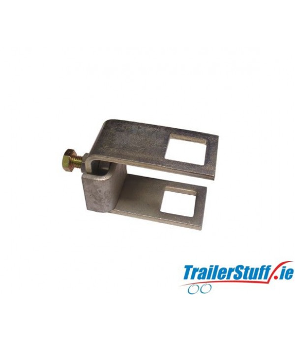 Square tube clamp 60x40 chassis section