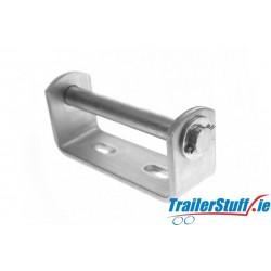 """Keel Roller Bracket 5"""" (127mm) 19mm Centre Bore"""