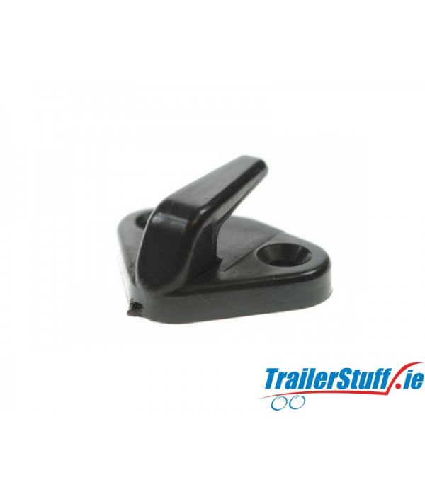 10 x PLASTIC TRAILER COVER TIE DOWN HOOK