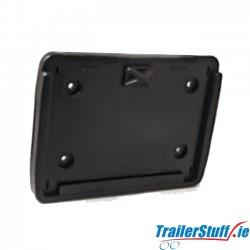 Aspock Square Registration Plate Holder