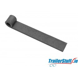 "Tailgate hinge strap 6"" long self colour"