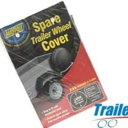 SPARE TRAILER WHEEL COVER 13 INCH WHEELS