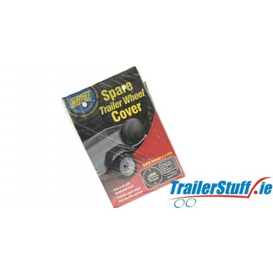 SPARE TRAILER WHEEL COVER 13 INCH WHEELS