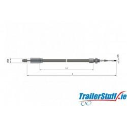 Knott 1130mm. detachable brake cable