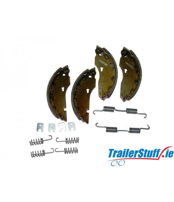 Genuine AL-KO 1637 brake shoe axle kit Euro drum