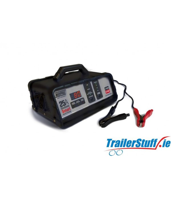 25A 12V ELECTRONIC BENCH SMART CHARGER