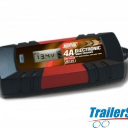 BATTERY CHARGER 4A 12V AUTO ELECTRONIC