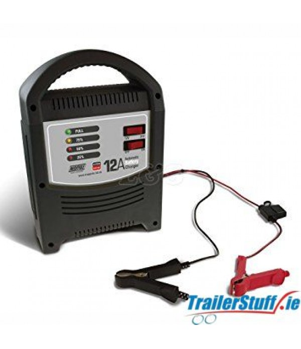 AUTOMATIC BATTERY CHARGER 12A 12/24V