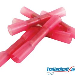 Heatshrink Insulated Crimps Red