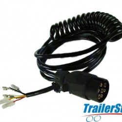 7 Pin Trailer Connecting Lead with Spade Terminals