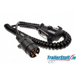 Curly extension lead 2.5m. long