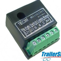 30 AMP DUAL CHARGE RELAY SELF SWITCHING