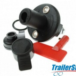 BATTERY CUT OFF SWITCH WITH RUBBER CAP 100A