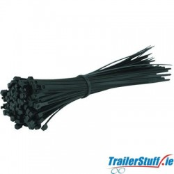 Cable Ties 4.8x380mm | Black | Pack Of 100