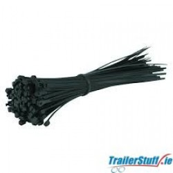 Cable Ties 7.6x380mm | Black | Pack Of 100
