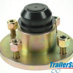 "Cast Hub Assembly 4stud on 4"" PCD"