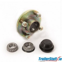 Cast Hub assembly 4stud on 100mm. PCD
