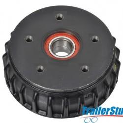 AL-KO 1637 Brake Drum with Sealed Bearing
