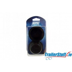 50.5mm PLASTIC HUB CAP - Twin Pack