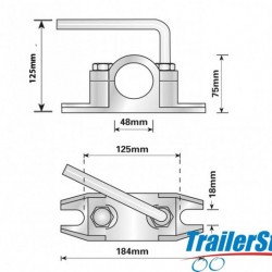 48MM SERRATED CLAMP