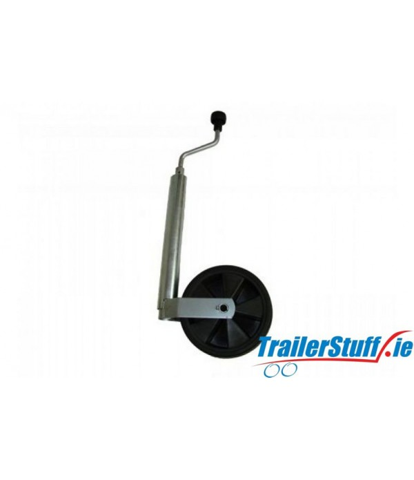 48MM JOCKEY WHEEL 100KG TELESCOPIC