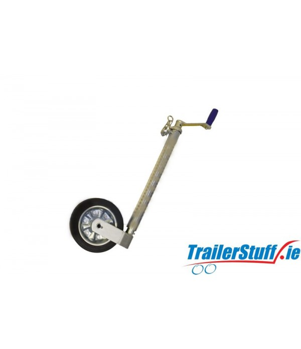 48MM 750KG HEAVY DUTY SERRATED JOCKEY WHEEL