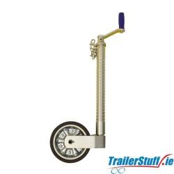 48mm Heavy Duty Serrated Jockey Wheel 500kg