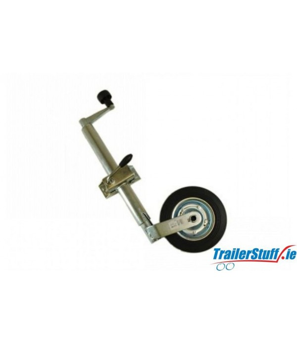 42MM STANDARD DUTY TELESCOPIC JOCKEY WHEEL PLUS CL...