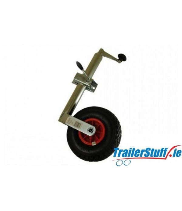 48mm. pneumatic  jockey wheel