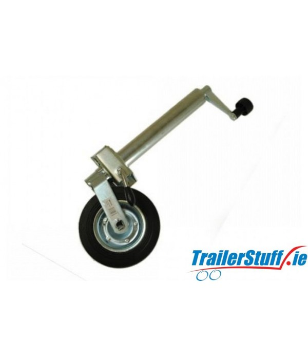 48MM STANDARD DUTY TELESCOPIC JOCKEY WHEEL PLUS CL...